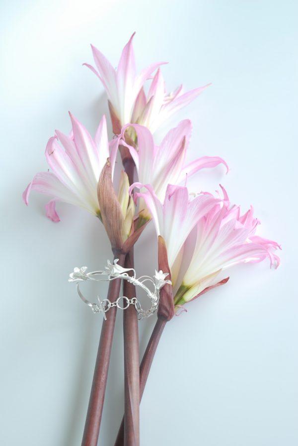 Belladonna Silver Bracelet Isles of Scilly Jewellery